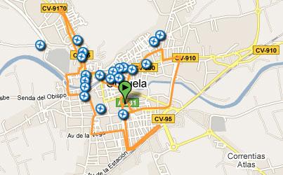 recorrido Oribici bicicletas Orbea Orihuela sorteo
