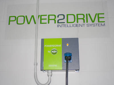 punto recarga electrico n2s power2drive