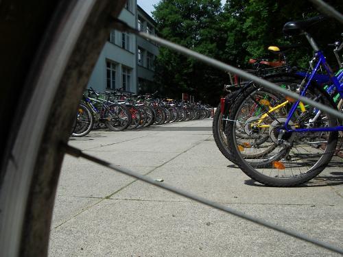 bicicleta bici parking