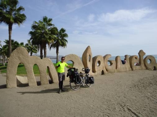 bici vuelta al mundo Daniel Orenes
