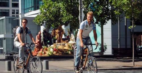 Bici bambu Bicicleta de bambu