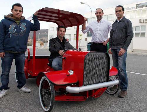 Camion electrico Navarra LGM