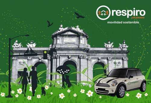 Car sharing Respiro Madrid