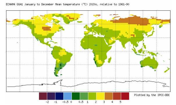 Mapa mundi clima