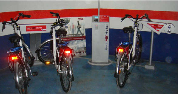 bicicleta electrica move hotel burgos