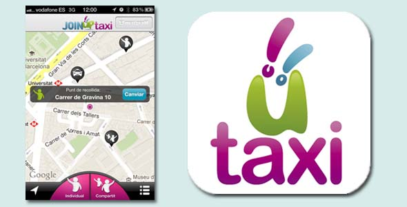 joinup taxi compartir taxi